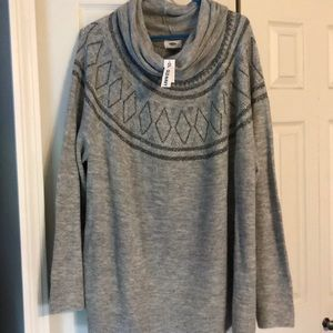 Women's XXL Old Navy cowl neck sweater
